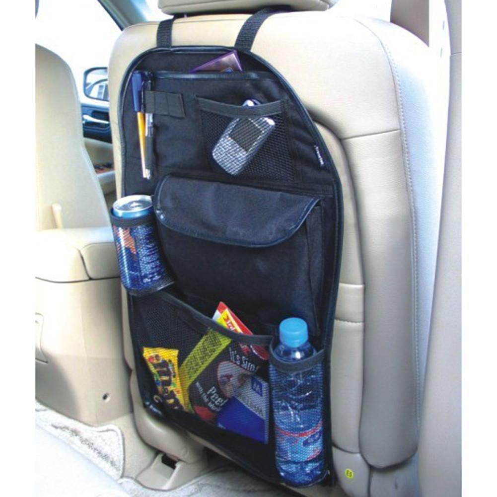 Universal Multi-functional Waterproof Car Auto Care Seat Protector Cover Storage Bag Mud Hanging Organizer 58cmx38cm