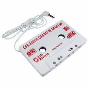 Vehicle Car-styling 3.5mm Stereo Car Cassette Tape Adapter For iPhone For iPod MP3 Audio CD Player