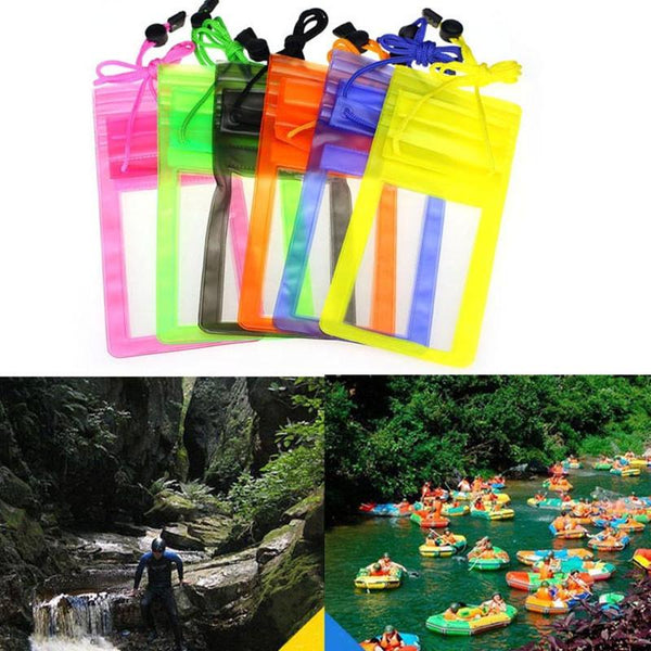 Waterproof Underwater PVC Package Pouch Diving Bags Outdoor Mobile Phone Pocket Case For Samsung Galaxy iPhone Xiaomi HTC Huawei