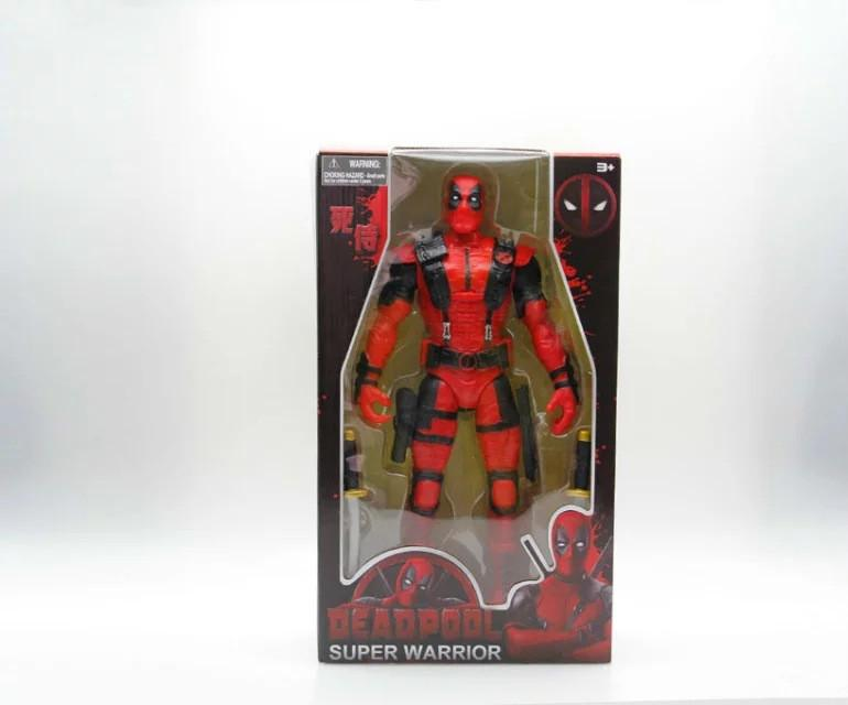 X-men Deadpool Super Warrior PVC Action Figures Collectible Model Toys 36cm KT1979