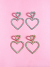 Dripin' in Love Rhinestone Earrings