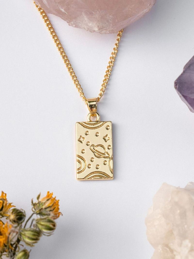 Space Talisman Necklace