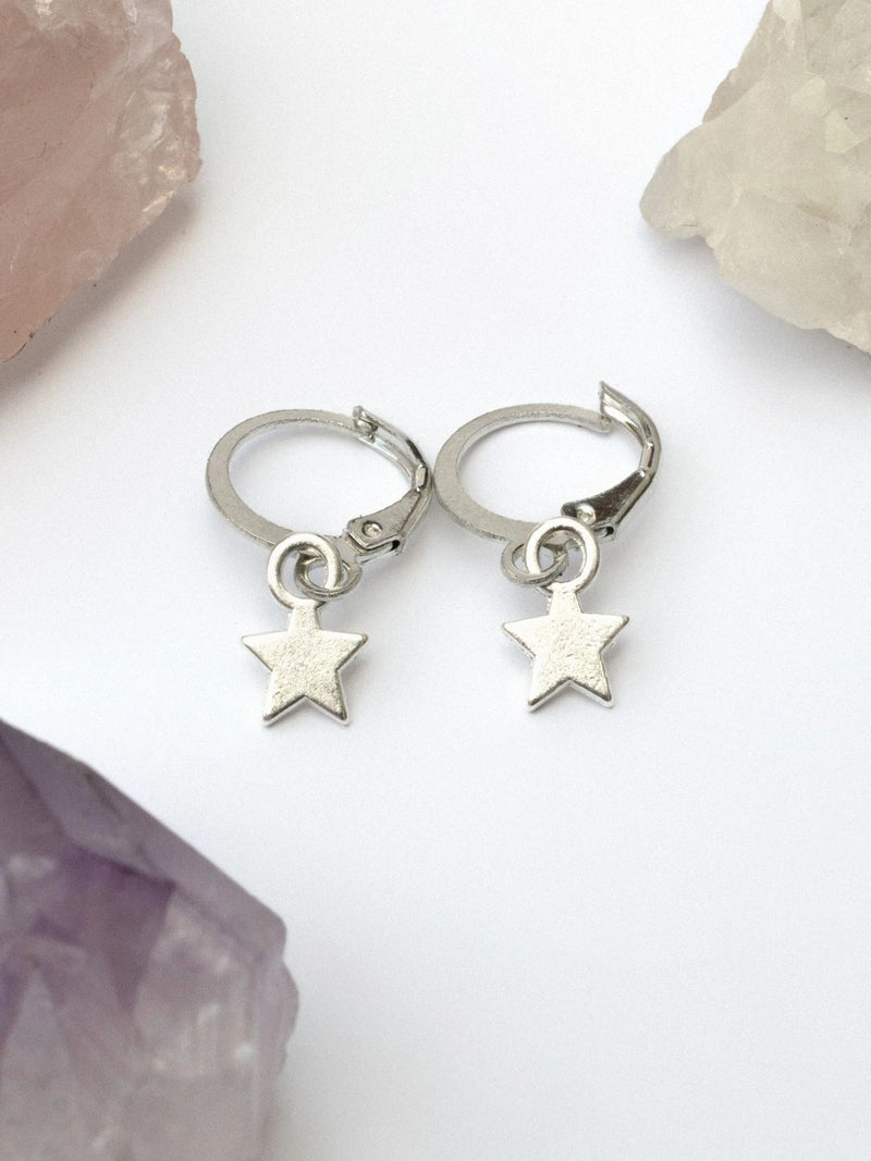 Twilight Hoop Earrings