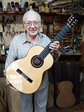Antonio Marín Montero Classical Guitars