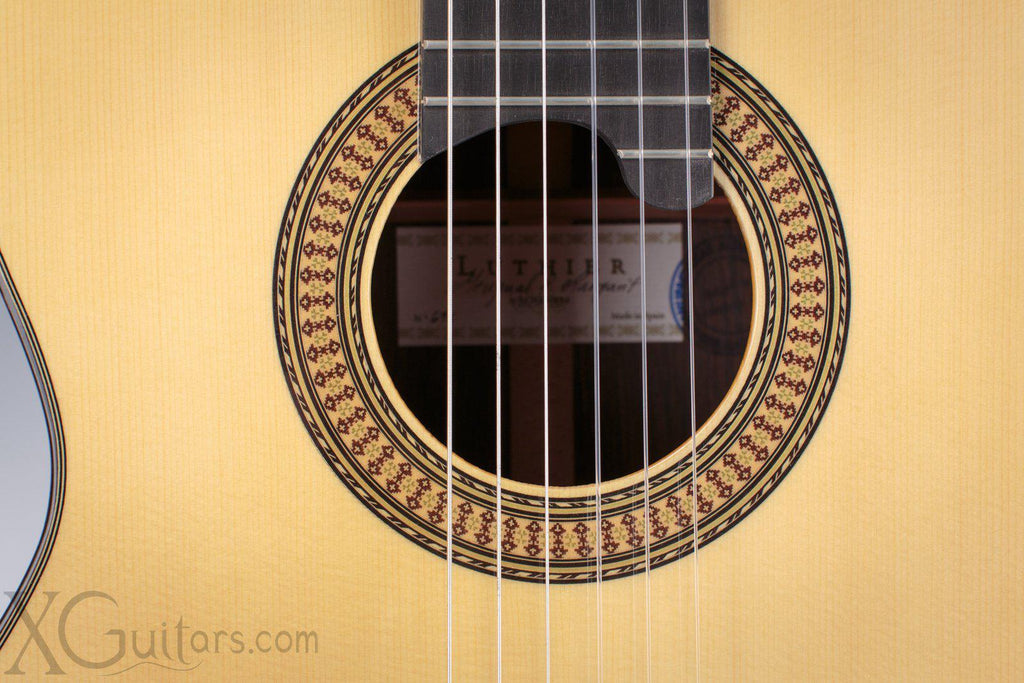 Alhambra Luthier India Classical Guitar