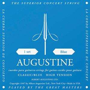 Augustine Classic Blue - Classical Guitar Strings image 1