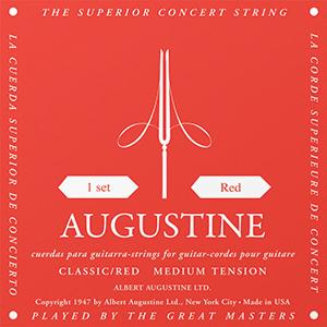 Augustine Classic Red - Classical Guitar Strings image 1