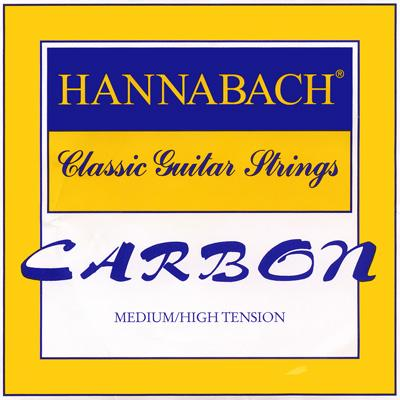 Hannabach Carbon Trebles - Classical Guitar Strings image 1