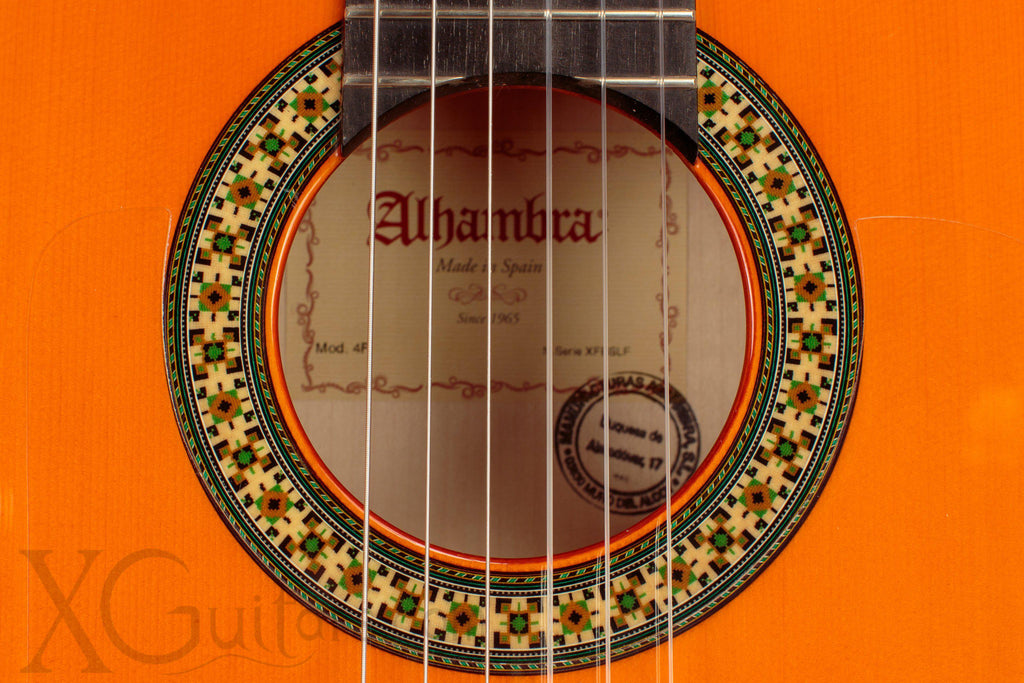 Alhambra 4F Flamenco Guitar