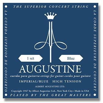 Augustine<br> Imperial Blue<br> High Tension<br> Classical Guitar Strings