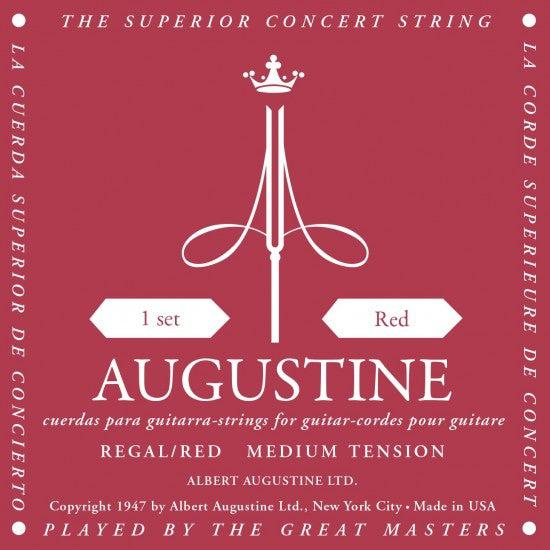 Augustine<br> Regal Red<br> High Tension<br> Classical Guitar Strings