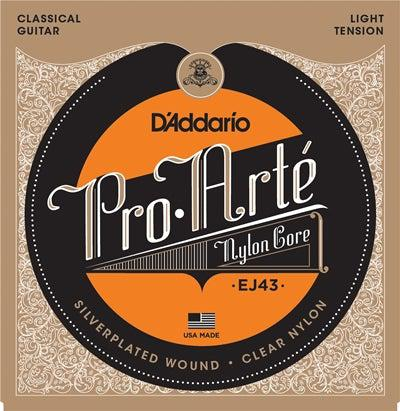 D'Addario<br> EJ43 Pro Arte<br> Light Tension<br> Classical Guitar Strings