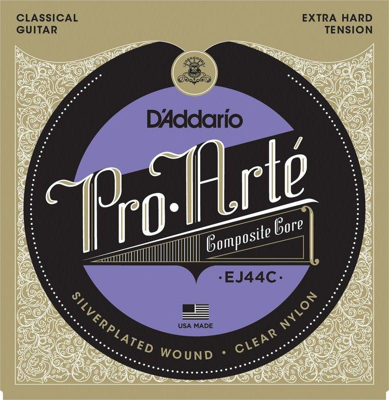 D'Addario<br> EJ44C Pro Arte Composite Extra<br> Hard Tension<br> Classical Guitar Strings