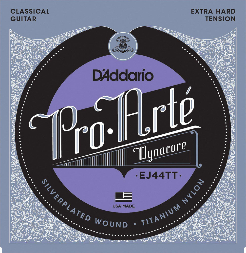 D'Addario EJ44TT Pro Arte Dynacore Extra Hard Tension Classical Guitar Strings