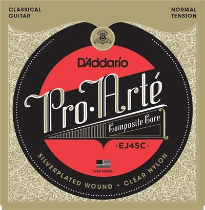 D'Addario EJ45C Pro Arte Composite Normal Tension Classical Guitar Strings
