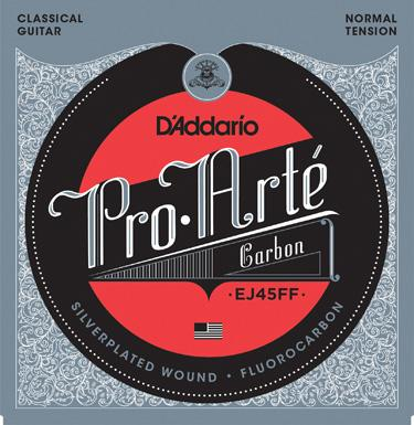 D'Addario EJ45FF Pro Arte Dynacore/Carbon Normal Tension Classical Guitar Strings image 1