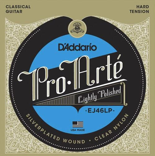D'Addario<br> EJ46LP Pro Arte Polished Composites<br> Hard Tension<br> Classical Guitar Strings
