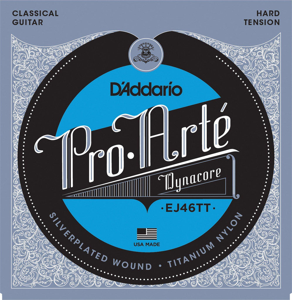 D'Addario EJ46TT Pro Arte Dynacore Hard Tension Classical Guitar Strings