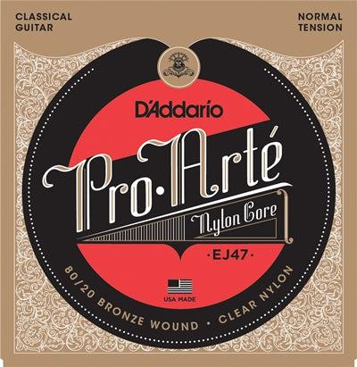D'Addario<br> EJ47 Pro Arte 80/20<br> Normal Tension<br> Classical Guitar Strings