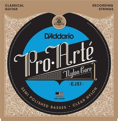 D'Addario<br> EJ51 Pro Arte<br> Hard Tension<br> Classical Guitar Strings