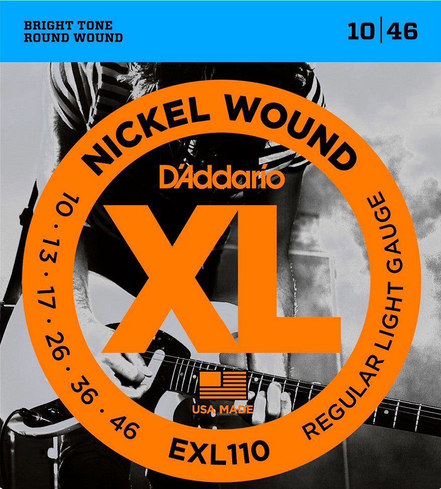 D'Addario<br> EXL110<br> Electric Guitar Strings