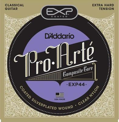 D'Addario<br> EXP44 Pro Arte Coated Composite<br> Extra Hard Tension<br> Classical Guitar Strings