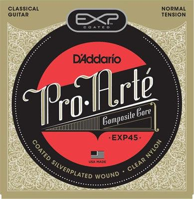 D'Addario<br> EXP45 Pro Arte Coated Composite<br> Normal Tension<br> Classical Guitar Strings
