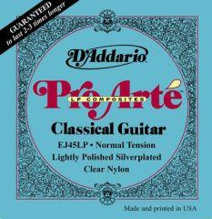 D'Addario EJ45LP Pro Arte Polished Composites Normal Tension Classical Guitar Strings image 1