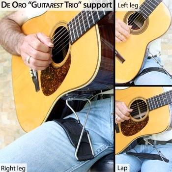 De Oro GuitaRest Trio Guitar Support image 1