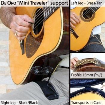 De Oro Mini Traveler Guitar Support image 1