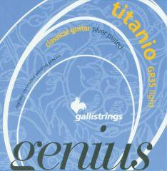Galli Genius GR35 Titanio - Light Tension Classical Guitar Strings image 1