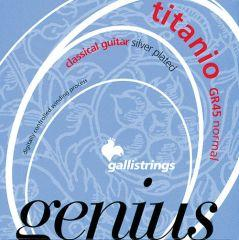 Galli Genius GR45 Titanio - Normal Tension Classical Guitar Strings image 1