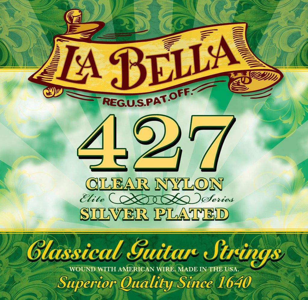 La Bella<br> 427 Elite Series<br> Medium Tension<br> Classical Guitar Strings