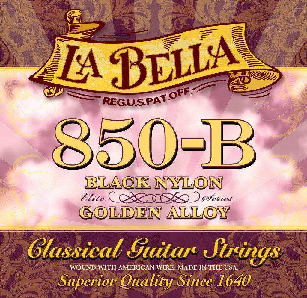 La Bella<br> 850-B Elite Series<br> Medium Tension<br> Classical Guitar Strings