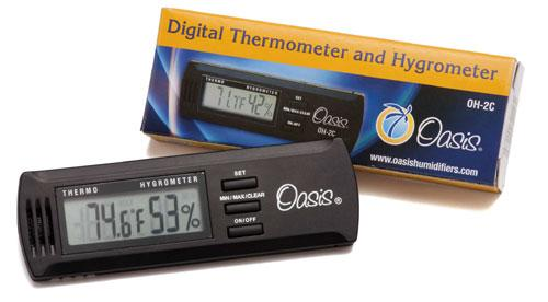 Oasis Thermometer and Hygrometer