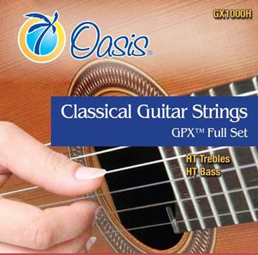 Oasis GX1000H GPX Carbon High Tension Classical Guitar Strings