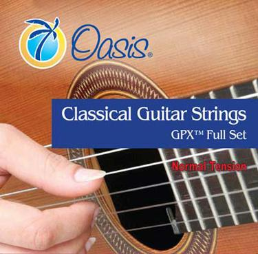 Oasis GX1100 GPX Carbon Normal Tension Classical Guitar Strings image 1