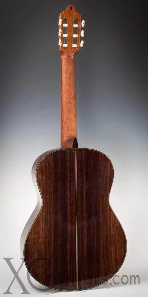 Paul Jacobson classical guitar back