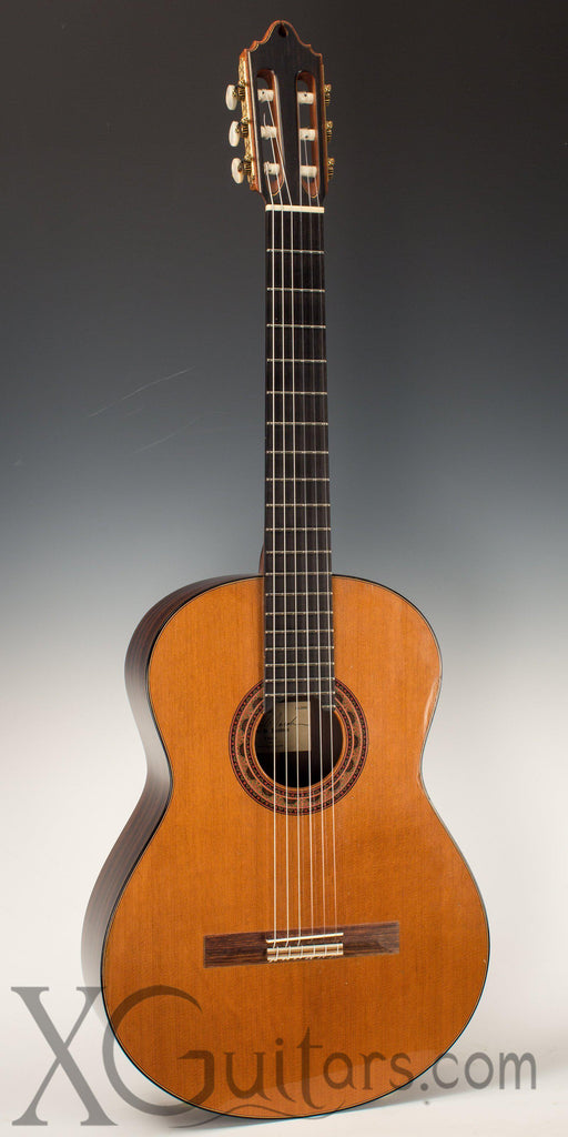 Paul Jacobson classical guitar front