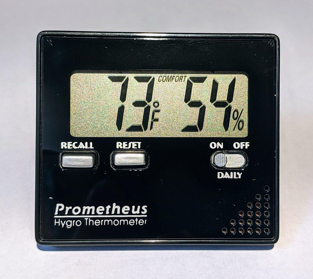 Prometheus Digital Hygrometer/Thermometer