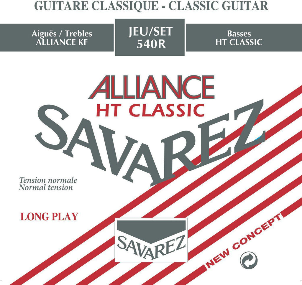 Savarez Alliance - Set 540R - Classical Guitar Strings