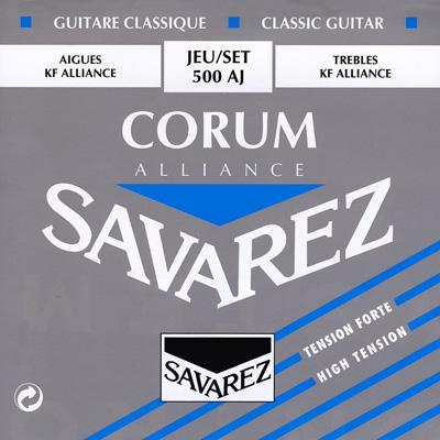 Savarez Corum Blue - Set 500AJ - Classical Guitar Strings