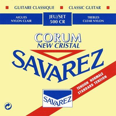 Savarez Cristal Corum Red - Set 500CR - Classical Guitar Strings