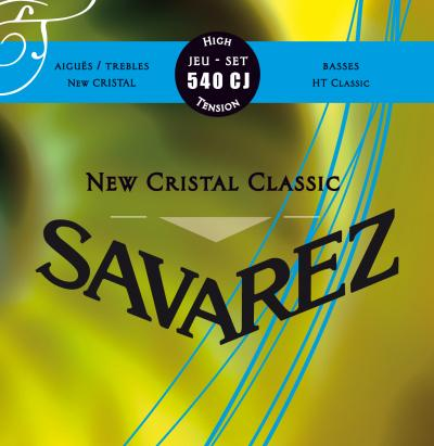 Savarez<br> 540CJ New Cristal Classic<br> High Tension<br> Classical Guitar Strings