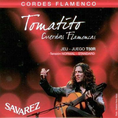 Savarez Tomatito T50R Normal Tension Flamenco Guitar Strings