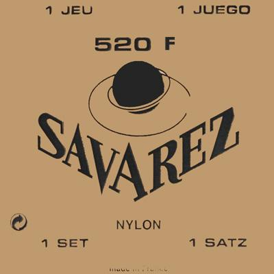 Savarez Traditional - Set 520F - Classical Guitar Strings