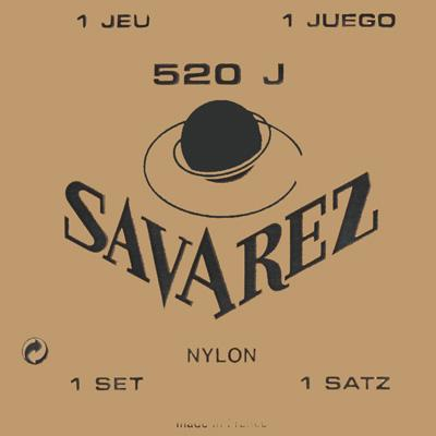 Savarez Traditional - Set 520J - Classical Guitar Strings