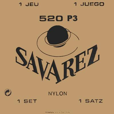 Savarez Traditional - Set 520P3 - Classical Guitar Strings