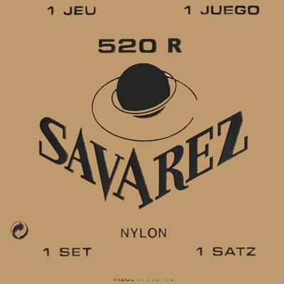 Savarez Traditional - Set 520R - Classical Guitar Strings
