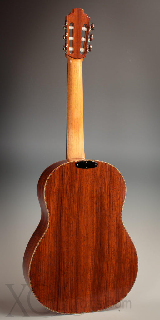 Tony Ennis Classical Guitar 2019 - Redwood Top - Silver Tuners